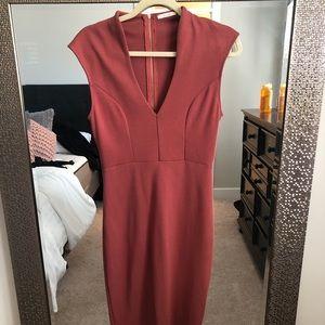 Maitai Deep V Bodycon Dress